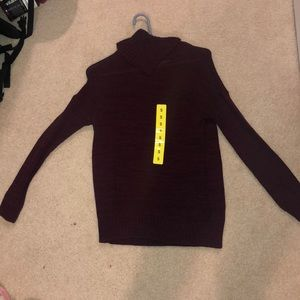 Never worn purple sweater